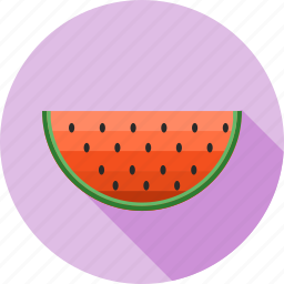 fruit, fruit slice, fruits, healthy, juicy, melon, watermelon icon