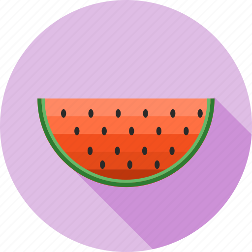 fruit, fruit slice, fruits, healthy, juicy, melon, watermelon icon