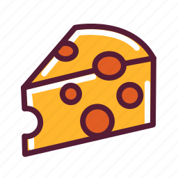cheddar, cheese icon