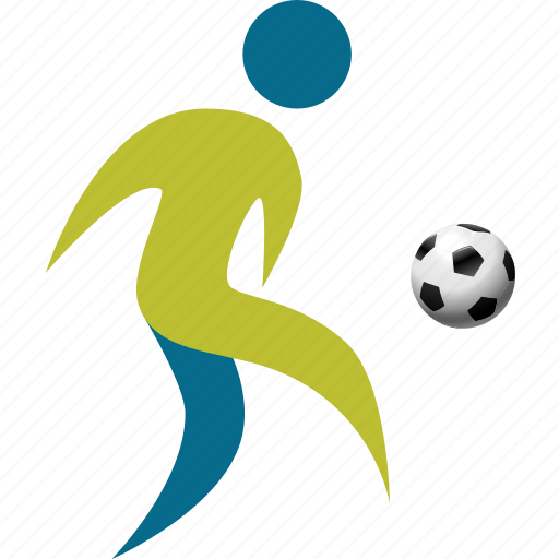 athlete, football, game, match, people, person, play, player, soccer, sport icon