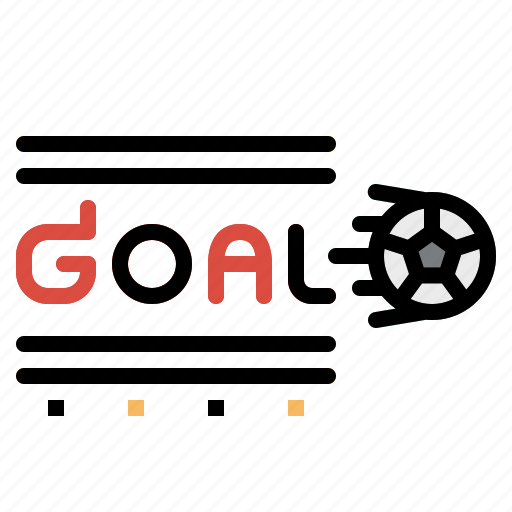 football, goal, score, soccer, sport, sportive, symbol icon