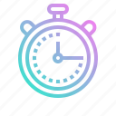 chronometer, extra, football, soccer, sports, time, tool icon