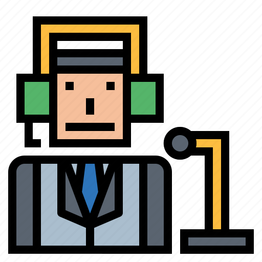 Commentator, job, news, profession icon - Download on Iconfinder