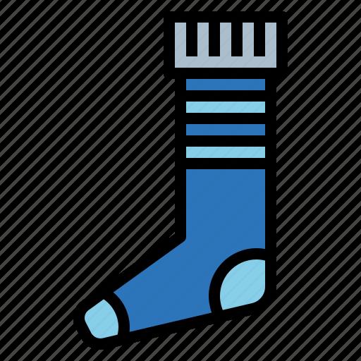 fashion, football, long, socks icon