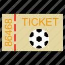 championship, field, football, goal, kick, soccer, sport, ticket