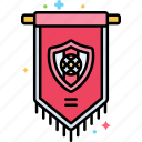 club, decoration, emblem, football icon