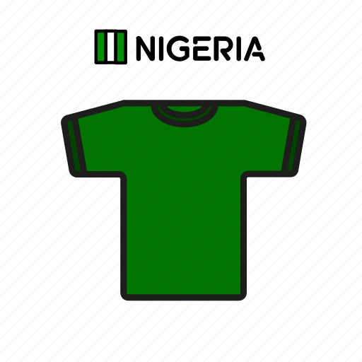 Cup, football, jersey, nigeria, shirt, soccer, world icon - Download on Iconfinder
