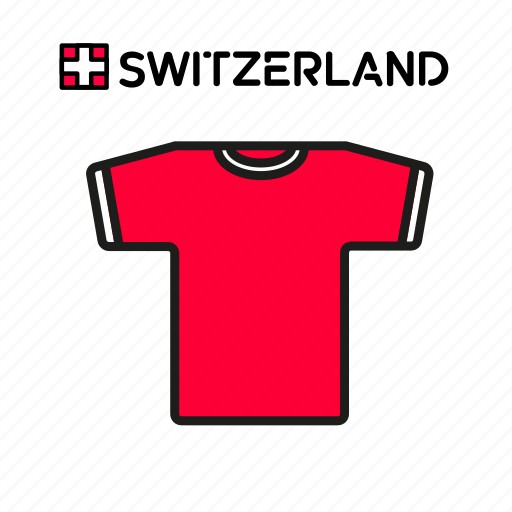 cup, football, jersey, shirt, soccer, switzerland, world icon