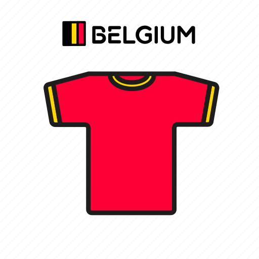 belgium, cup, football, jersey, shirt, soccer, world icon