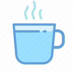 caffe, coffee, cup, drinks, hot, water icon