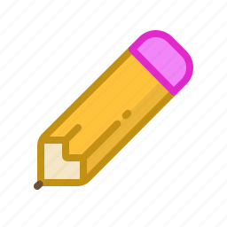 draw, drawing, editing, eraser, pencil, picture, sketch icon