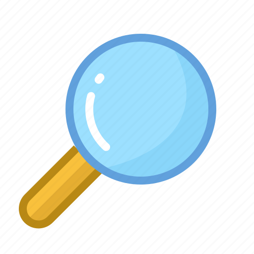 Data, files, lens, magnifier, magnifying, search, zoom icon - Download on Iconfinder