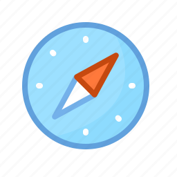 browser, compass, internet, map, navigation, safari icon