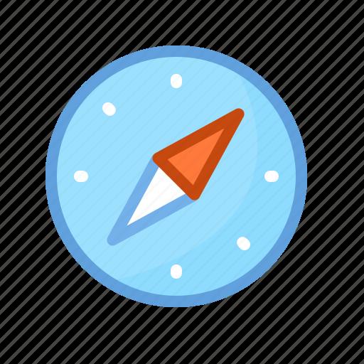 browser, compass, internet, map, navigation, safari icon