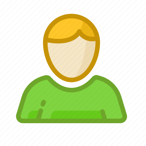 blonde, character, man, people, portrait, user icon