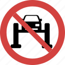 car on bridge blocked, car on bridge forbid, car on bridge illegal, car on bridge not allowed, car on bridge prohibition, no car on bridge, stop car on bridge icon