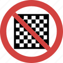 chess blocked, chess forbid, chess illegal, chess not allowed, chess prohibition, no chess, stop chess icon