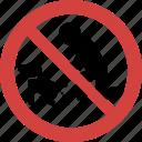 dog shit forbid, dog shit illegal, dog shit not allowed, dog shit prohibition dog shit blocked, no dog shit, stop dog shit icon