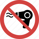 blower blocked, blower forbid, blower illegal, blower not allowed, blower prohibition, no blower, stop blower icon