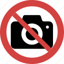 ban camera, camera forbid, camera illegal, camera not allowed, camera prohibition, stop camera icon