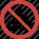 an quad bike, quad bike forbid, quad bike illegal, quad bike not allowed, quad bike prohibition, stop quad bike icon