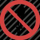 ban sword, stop sword, sword forbid, sword illegal, sword not allowed, sword prohibition icon