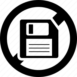 blocked, diskette, forbidden, guardar, prohibited, save icon