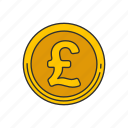 british pound, coins, currency, pound icon