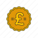 british pound, coin, money, pound icon