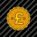 british pound, coin, money, pound