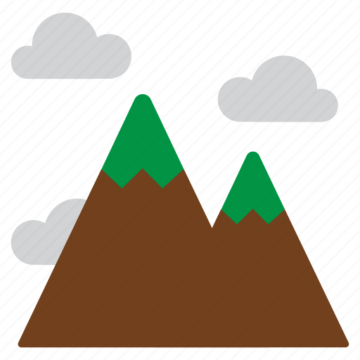 climbing, landscape, mountain, nature icon