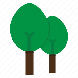 forest, jungle, nature, tree, trees, woods icon