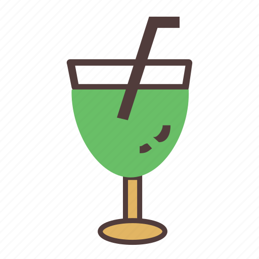 beverage, cocktail, dessert, drink, fruit, glass icon