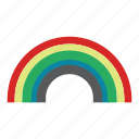 colours, rainbow, spring icon
