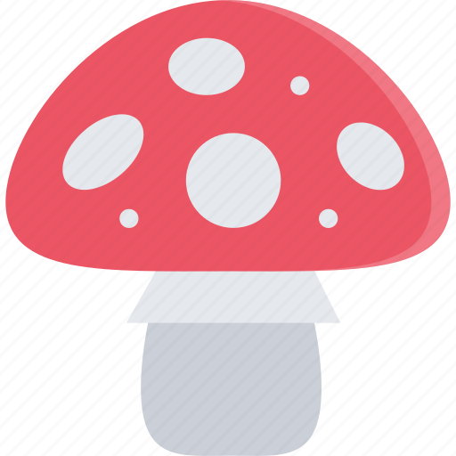 amanita, forest, forester, nature, tree icon