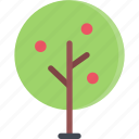 apple, forest, forester, nature, tree icon