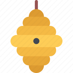 beehive, forest, forester, nature, tree icon