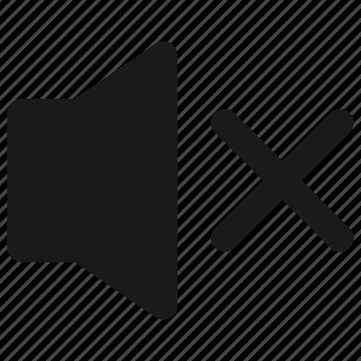 audio, music player, mute icon