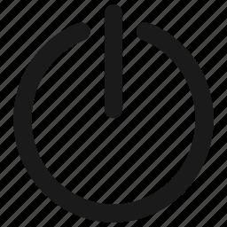 audio, off, on, power icon