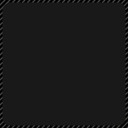 audio, music player, rectangles icon