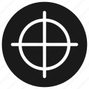 keywords, seo, target, web icon