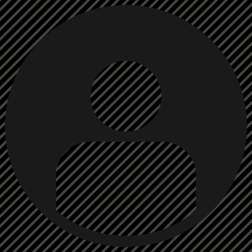account, profile, ui, user icon