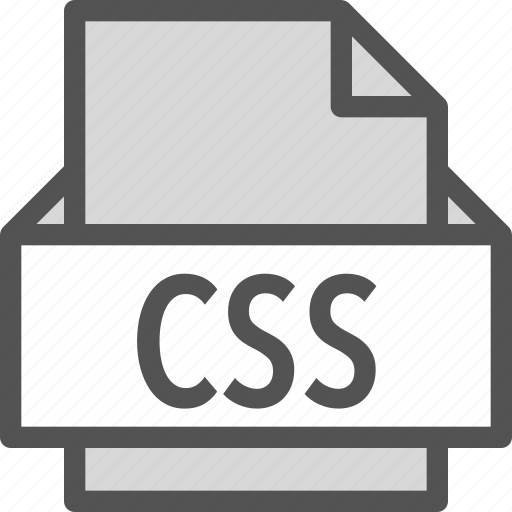 css, extension, file, folder, tag icon