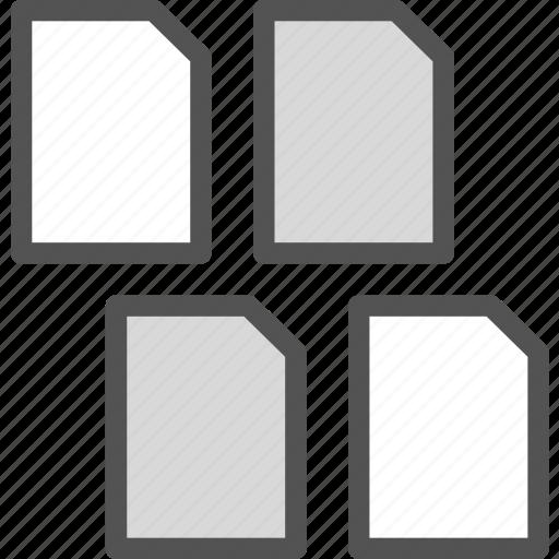 extension, file, files, folder, tag icon