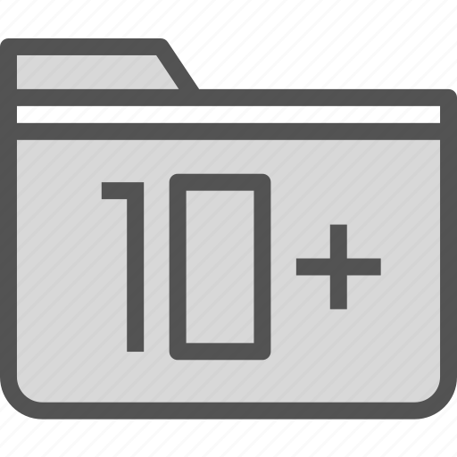extension, file, folder, tag icon