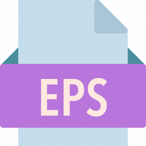 eps, extension, file, folder, tag icon