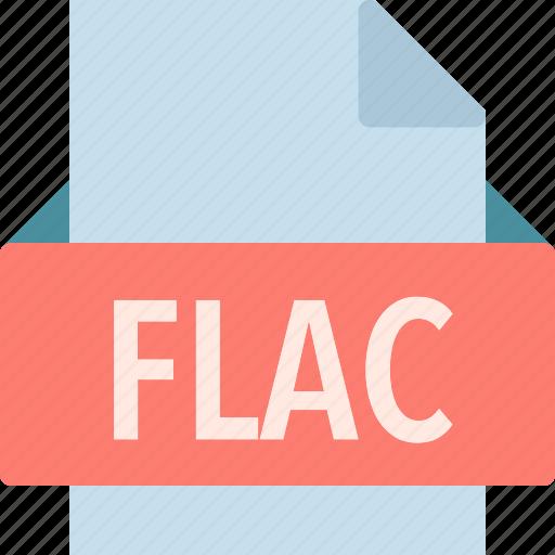 extension, file, flac, folder, tag icon