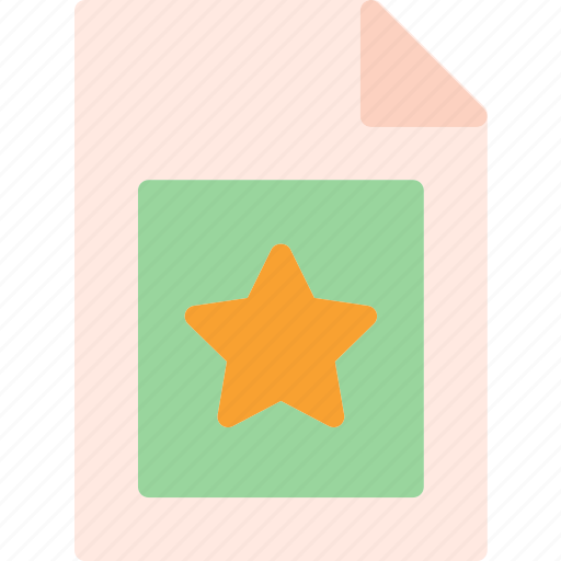 extension, favorite, file, folder, tag icon