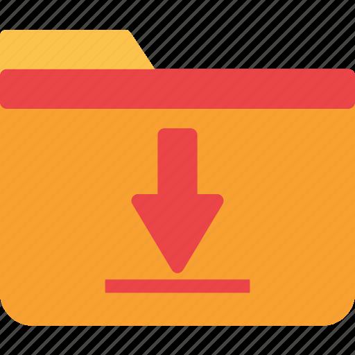 extension, file, folder, folderdownload, tag icon