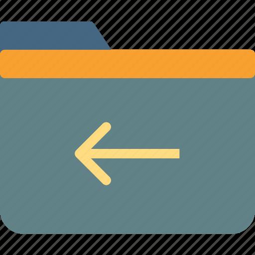 extension, file, folder, folderleft, tag icon
